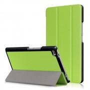 CasualCases 3-Vouw stand flip hoes groen voor de Lenovo Tab 4 8