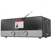 Sistem audio hama Radio digital Hama DIR3100, DAB, FM, Negru/Argintiu