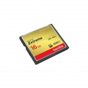 SanDisk Extreme 16GB CompactFlash Memory Card UDMA 7 Speed Up To 120MB/s- SDCFXS-016G-X46