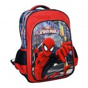 Ghiozdan scoala Spiderman, 35 x 45 x 12.5 cm, Multicolor