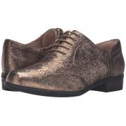 Clarks Hamble Oak Gold Metallic Leather