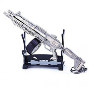 Azlink Apex Legends Game Collection 1/6 Metal EVA-8 Auto Shotgun Modelo Llavero de acción Figura de Juguete de Artes Regalo Mochila Colgante Suministros de Mesa decoración Pistola