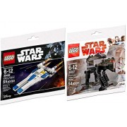 Sw Ships Lego Star Wars First Order Heavy Assault Walker Last Jedi & U-Wing Fighter Rogue One Set - Polybag Edition Building