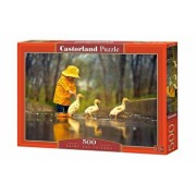 Puzzle Rainy Day Friends, 500 piese