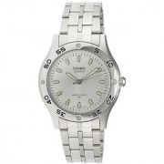 Casio Enticer Analog Silver Dial Mens Watch - Mtp-1243D-7Avdf (A218)