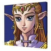 Cuadro Decorativo Zelda De Legend Of Zelda Nintendo Princess