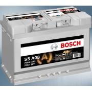 Acumulator auto BOSCH S5 AGM 70AH (fostul BOSCH S6 70Ah AGM)