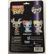 Funko Pocket Pop My Little Pony Rainbow Dash Discord Derpy Vinyl Figure 3-Pack
