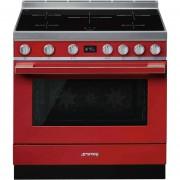 SMEG Cpf9ipr Cucina 90x60 5 Zone A Induzione Forno Elettrico Termoventilato 115