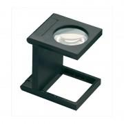 Eschenbach Magnifying glass 5X linen tester, black
