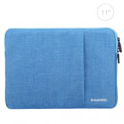 HAWEEL 11 inch Sleeve Case Zipper Briefcase Carrying Bag For Macbook Samsung Lenovo Sony DELL Alienware CHUWI ASUS HP 11 inch and Below Laptops / Tablets(Blue)