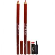 Mars Lip Eye Liner Pencil 2PCs With Free Laperla Kajal