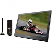 "Reflexion LED1015T2HD/N Prijenosni TV 25.4 cm 10 "" ATT.CALC.EEK: A (A - G) Rad na baterije, Kamping TV, Uklj. 12V auto kabel za"