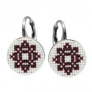 Camila - Cercei Argint Handmade - Motive Traditionale