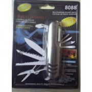 Stainless Steel 14 In 1 Multi Function Pocket Style Knife