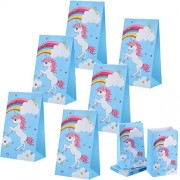 Toodoo 30 Pack Unicorn Party Bags Favor Goodies Favors Supplies Decorations For Kids Birthday