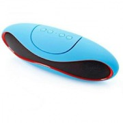 Wireless Bluetooth Speaker with FM/Aux Headphone Jack/USB Sd Card Slot/ Mic/ Call Attending Feature