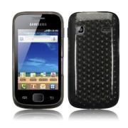 Samsung Galaxy Gio S5660 Силиконов Калъф Черен