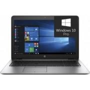 Laptop HP EliteBook 850 G4 Intel Core Kaby Lake i5-7300U 256GB 8GB AMD Radeon R7 M465 2GB Win10 Pro FullHD FPR Silver