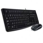 LOGITECH MK120 Pack clavier souris filaire FR