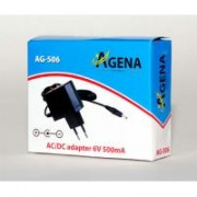 Adapter Agena Energy AG506 6V 500mA AC DC