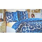 "Спален комплект ""Blue Style"" Ранфорс - 100% Памук"