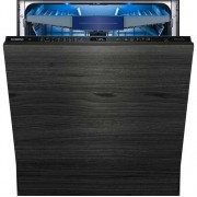 Siemens IQ-500 SN658D00MG Fully Integrated Standard Dishwasher - Black Control Panel with Fixed Door Fixing Kit - A+++ Rated