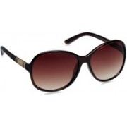 Image Oval Sunglasses(Brown)