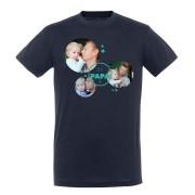 YourSurprise T-shirt Fête des Pères - Homme - Bleu marine - L