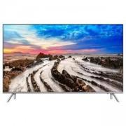 Телевизор Samsung 49 инча 49MU7002 4K Ultra HD LED TV, Smart, TIZEN, 2300 PQI, DVB-T/T2/ DVB-C/ DVB-S, WI-FI, PIP, 4xHDMI, USB, Сребрист, UE49MU7002TX