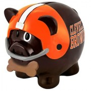 NFL Cleveland Browns Resin Large Thematic Piggy Bank