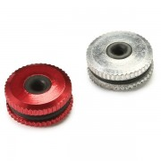 Meco 2PCS Metal Canopy Lock Washer Canopy Nut for 450 RC Helicopter 3MM Shaft