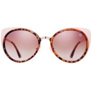 TOM MARTIN Cat-eye Sunglasses(Brown)