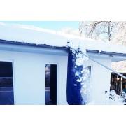 Schneeräumer Dach Schneerutsche für große Mengen - Dachräumer...