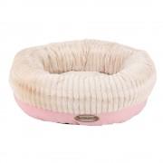 Scruffs Ellen Doughnut Dog Bed Pink - X-Large