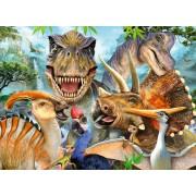 Puzzle Ravensburger - Poza Dinozaurilor, 300 piese (13246)