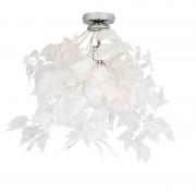 Trio Leuchten Art Deco Ceiling Lamp White - Feder