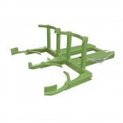 Fassheber für 2 x 220-l-Kunststofffässer grün