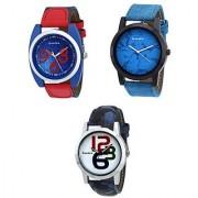 danzen combo of Three men's Watches-dz-413-414-415