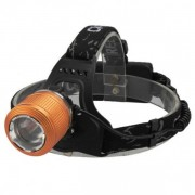 Lanterna Frontala cu Doua LEDuri Alb Albastru si Zoom MX33