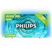 Philips TV 55OLED803 Tvs - Zilver