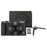 Nikon compact camera A900 INCL. TAS/16 GB SD KAART/TRIPOD