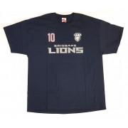 Brisbane Lions Mens Number Player Tee Shirt