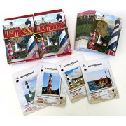 Lighthouses, Souvenir, Playing Cards, Double Decker, Souvenirs