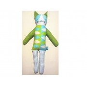 Jucarie textila U-GROW UG-AF02 Print Doll 36 cm
