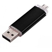 Eshop 100% Original OTG USB Flash Drive For Mobile Computer 8 GB OTG Drive(Black, Type A to Micro USB)