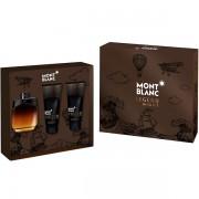 Mont Blanc Legend Night Комплект (EDP 100ml + AS Balm 100ml + SG 100ml) за Мъже
