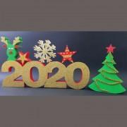 Dekorativni novogodisnji set