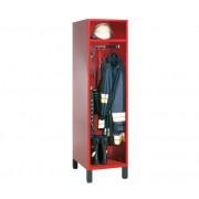 Brandweer Garderobekast met Helmhouder (Type 1)