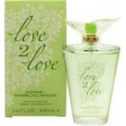 Love2Love Jasmine + Sparkling Mimosa Eau de Toilette 100ml Sprej